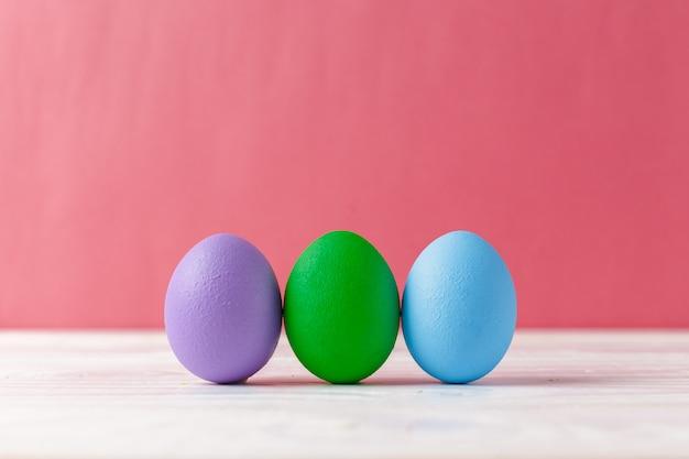 Uova di pasqua colorfull Foto Premium