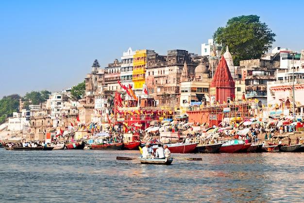 Varanasi ghats Foto Premium