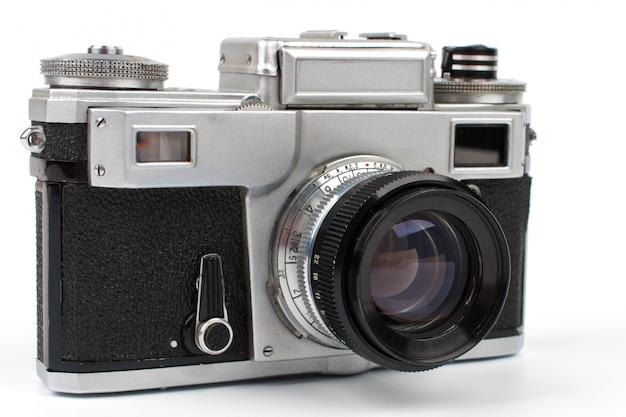 Vecchia macchina fotografica Foto Premium
