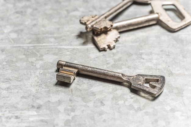 Vecchie chiavi Foto Premium