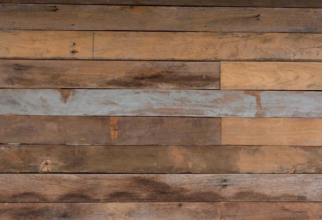 Vecchie strutture di legno grungy del fondo di marrone-rosso d'annata: ambiti di provenienza di legno di lerciume per l'interno Foto Premium
