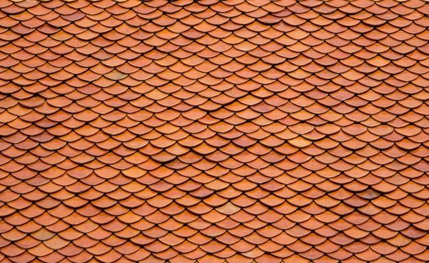 Vecchie tegole sfondo del tetto Foto Gratuite