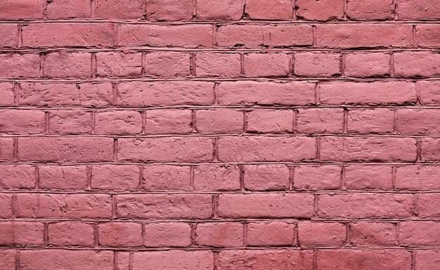 Vecchio fondo rosso di struttura del muro di mattoni Foto Gratuite