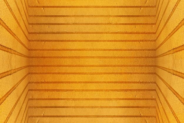 Vecchio fondo sporco giallo di struttura del muro di cemento Foto Premium