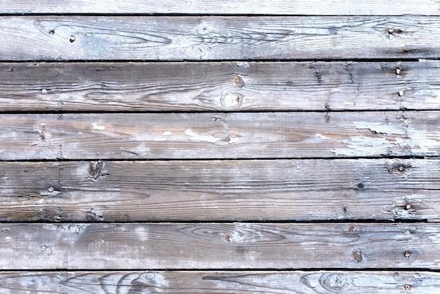 Vecchio fondo strutturato di legno delle plance Foto Premium