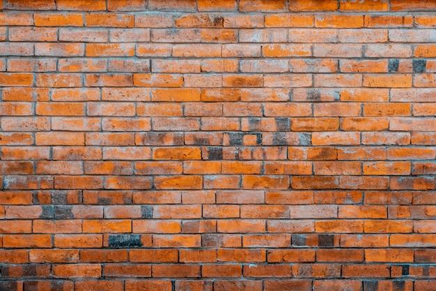 Vecchio muro di mattoni rossi. Foto Premium