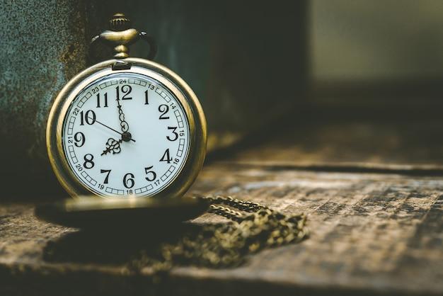 Vecchio orologio Foto Premium