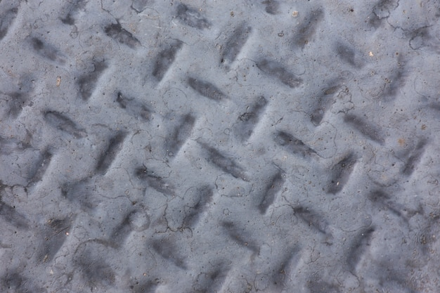 Vecchio sfondo d'acciaio. colore grigio vecchio sfondo di acciaio Foto Premium
