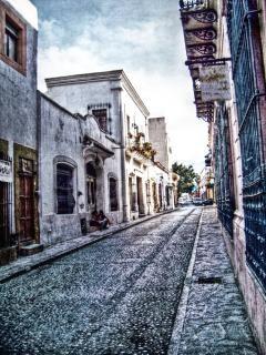 Vecchio tipica strada Foto Gratuite