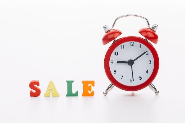 Venerdì nero con il concetto di vendita orologio Foto Gratuite