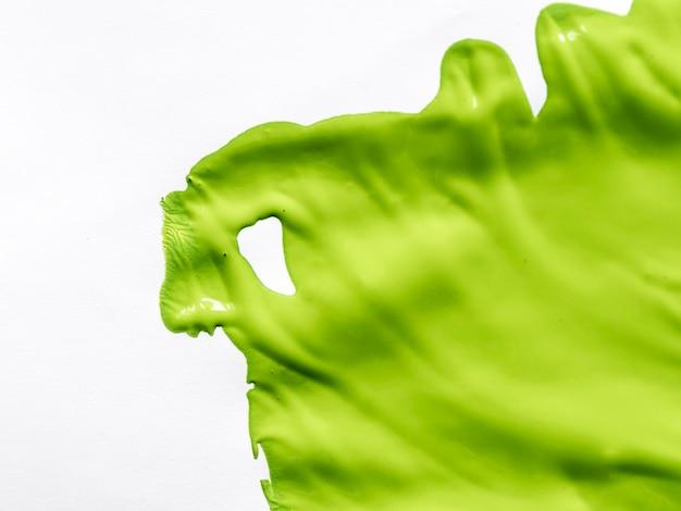 Vernice verde su sfondo bianco Foto Gratuite