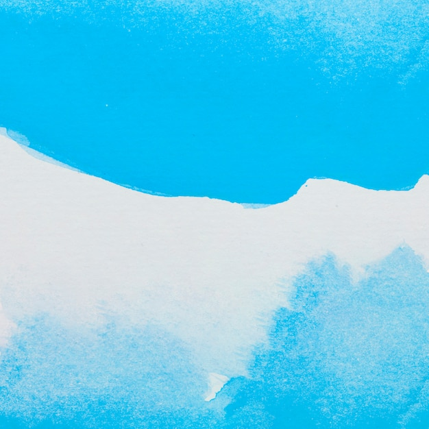 Vernici blu su foglio bianco Foto Gratuite