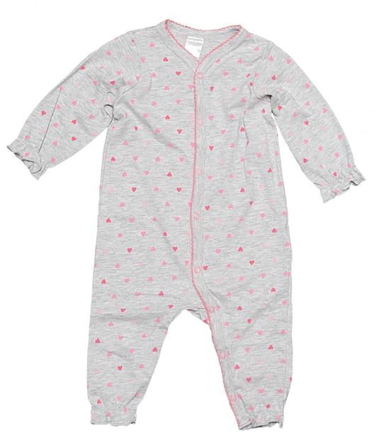 Vestiti del bambino isolati su fondo bianco Foto Premium