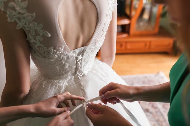 Vestito da sposa Foto Gratuite