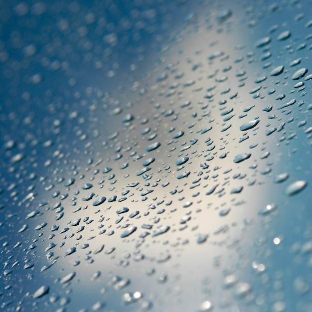 Vetro riflessione sullo sfondo automobilistico umidità Foto Gratuite