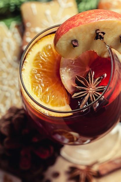 Vin brulè di natale Foto Premium