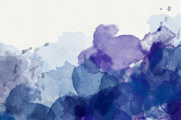 Viola acquerello astratto Foto Premium