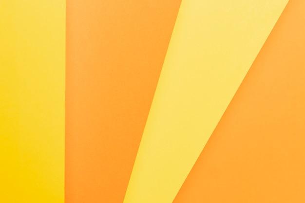 Vista dall'alto con sfumature di arancione Foto Gratuite