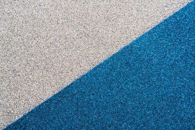 Vista dall'alto del tappeto blu e grigio Foto Gratuite