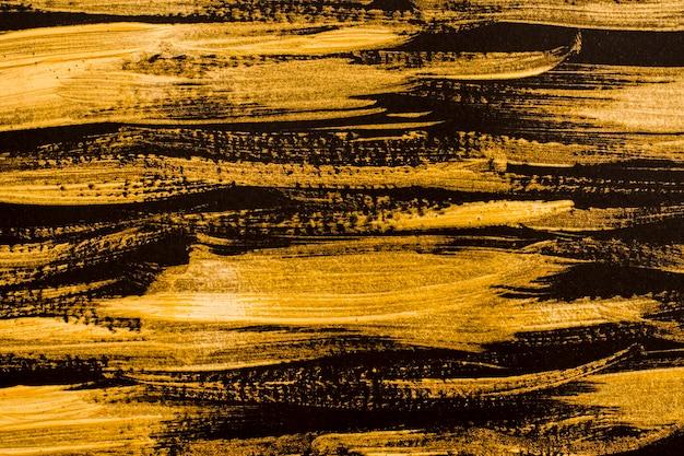 Vista dall'alto superficie dorata astratta Foto Gratuite