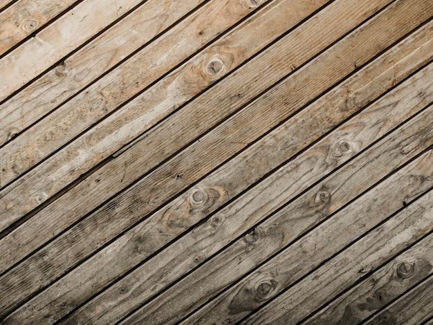 Vista elevata di fondo strutturato di legno Foto Gratuite
