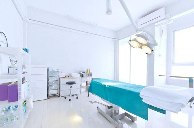 Vista interna della sala operatoria Foto Premium