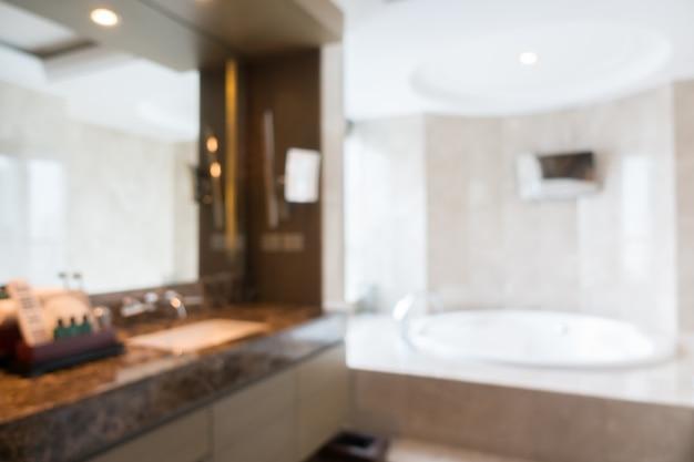 Vista offuscata di un bagno pulito scaricare foto gratis - Toilette da bagno ...