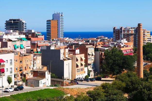 Vista ordinaria della città mediterranea Foto Gratuite