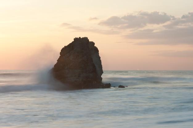 Vista sul mare della penisola di nicoya in san jose costa rica Foto Premium