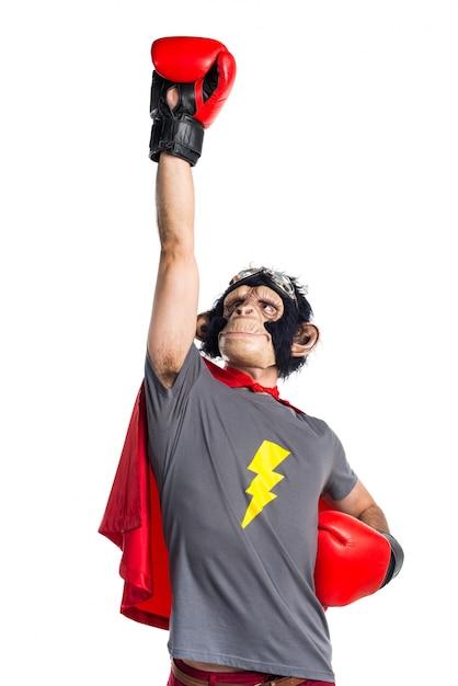 Volare di scimmia del supereroe Foto Gratuite