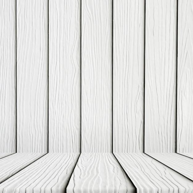 Vuoto Sfondo Bianco Del Pavimento Di Legno Scaricare Foto Gratis