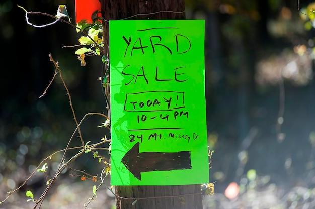 Yard sale, the hamptons, new york Foto Premium