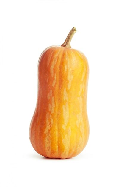 Zucca isolata su bianco Foto Premium