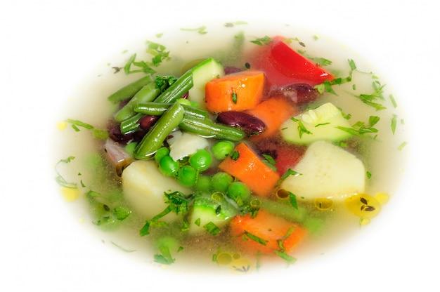 Zuppa di verdure Foto Premium
