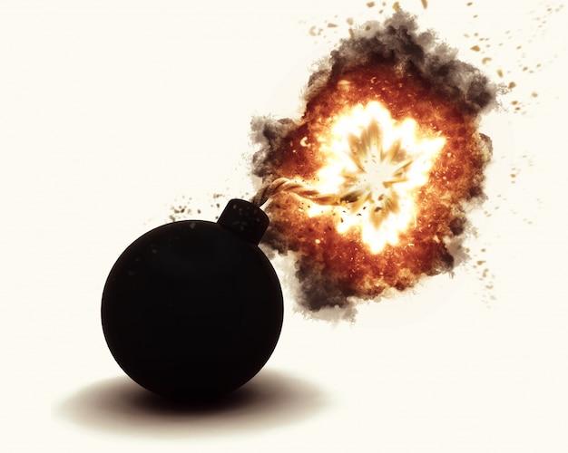 Resultado de imagem para bomba explodindo