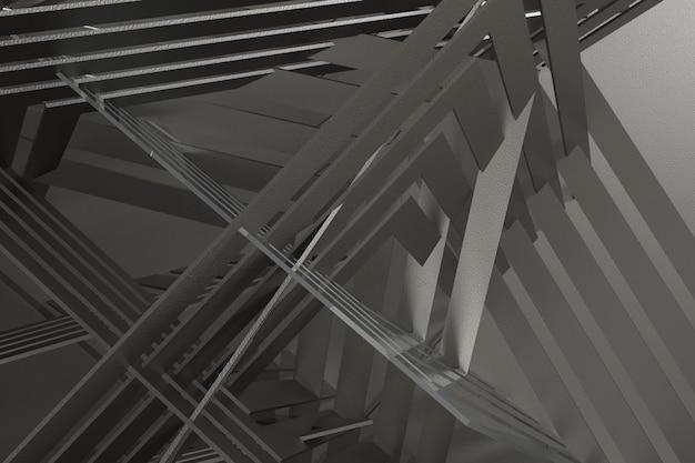 3d rendem o fundo abstrato Foto Premium
