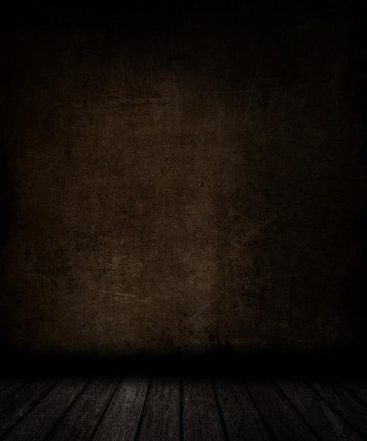 3d, render, grunge, sala, interior, manchado, parede, chão Foto gratuita