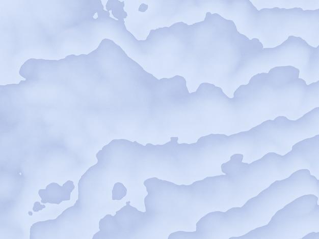 3d renderizou linhas de contorno topográficas abstratas. Foto Premium