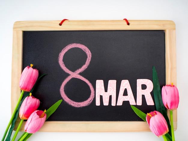8 de março dia internacional da mulher Foto Premium
