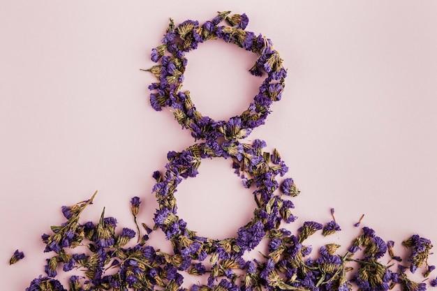 8ª partida floral do dia das mulheres Foto gratuita