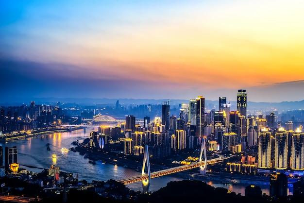 A bela cidade de chongqing Foto gratuita