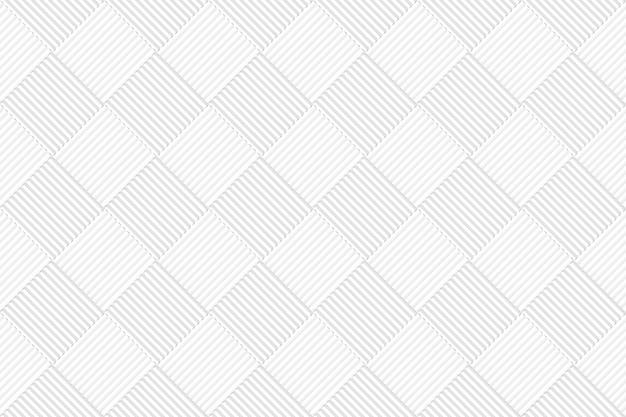 A grade quadrada cinzenta branca sem emenda telha o fundo da parede do teste padrão. Foto Premium