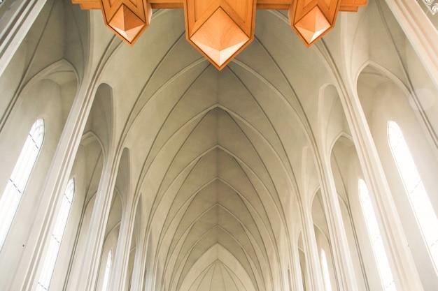 A igreja branca Foto gratuita