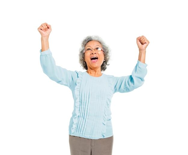 A mulher mais feliz do mundo Foto gratuita