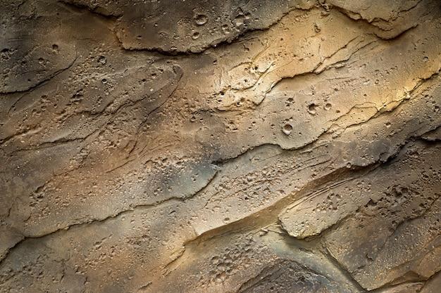 A parede velha do cimento é áspera para o fundo. Foto Premium