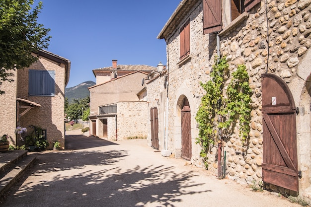 A rua medieval. Foto gratuita
