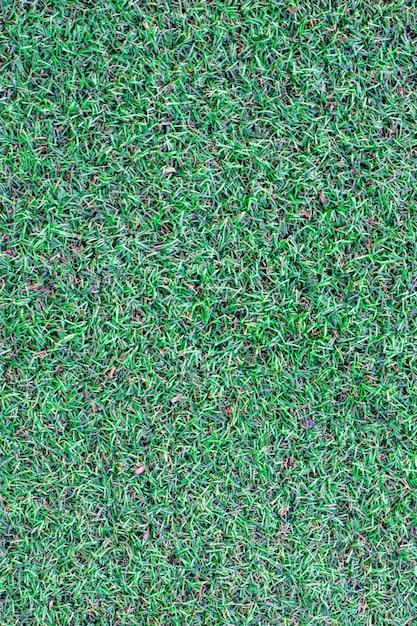 A superfície da grama artificial para o fundo Foto Premium