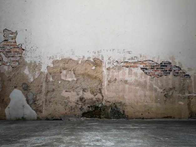A superfície da parede está em branco para o fundo. Foto Premium
