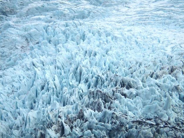 A, superfície, de, falljokull, geleira, em, vatnajökull, parque nacional, sul, islândia Foto Premium