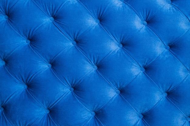 A superfície é revestida com material azul Foto Premium